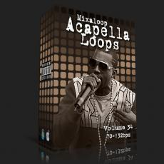 国外干声说唱/Rap Acapella Loop Pack 34 (70-132bpm)