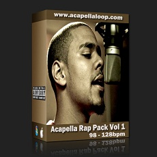 国外干声说唱/Rap Acapella Rap Pack Vol 1 (98-128bpm)_干声