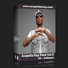 国外干声说唱/Acapella Rap Pack Vol 5 (95-140bpm)