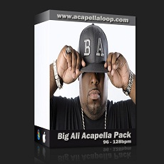 国外干声说唱/Rap Acapella Pack - Big Ali (96-128bpm)