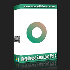 Bass素材/Deep House Bass Loop Vol 4
