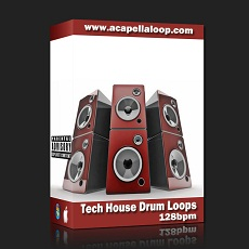 ���ز�/Tech House Drum Loops (128bpm)